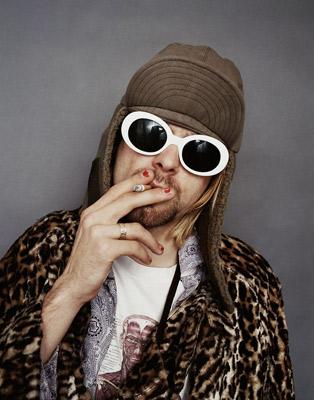 Sessão de fotos do Kurt Cobain (Nirvana)