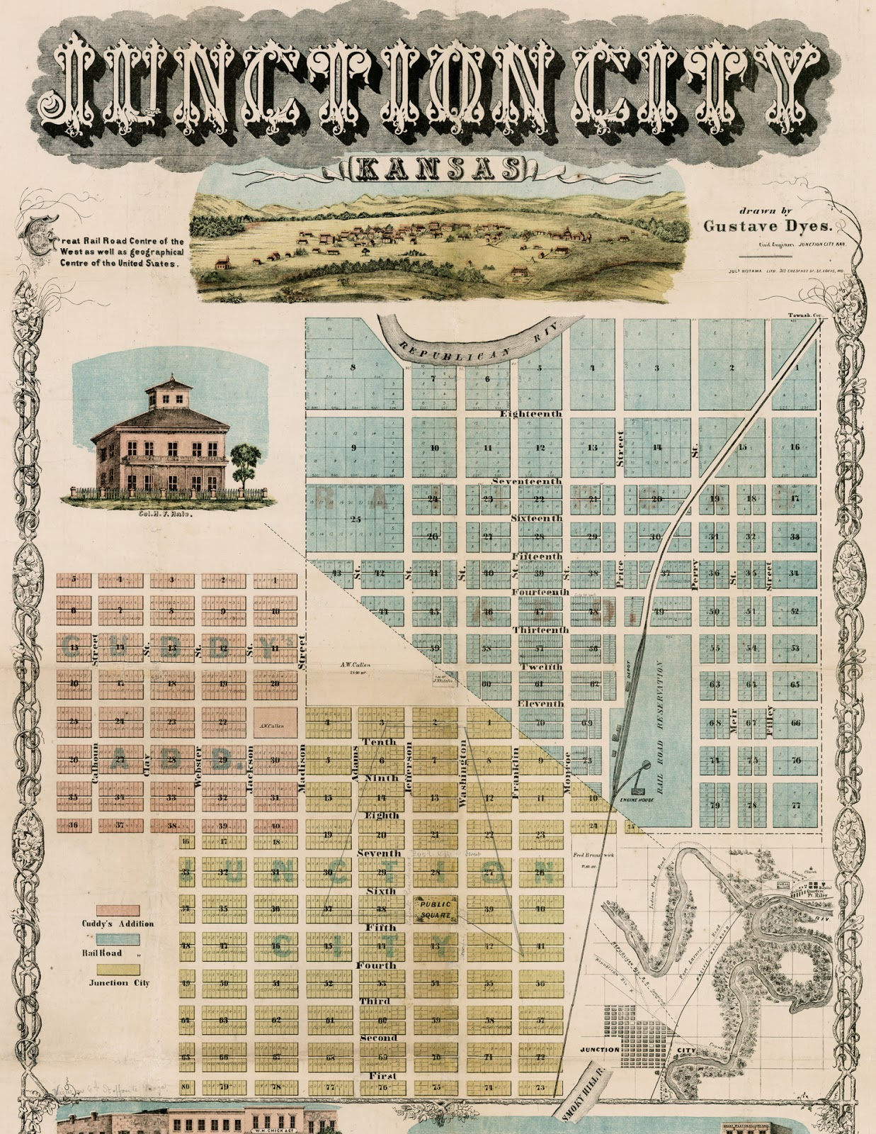 Deborah\'s Journal: The Printed Fabric Bee: Old World Maps