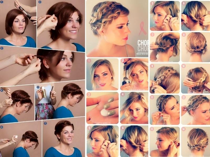 Super Look Like A Model: Tutorial hairstyle: come fare acconciature con  FA02