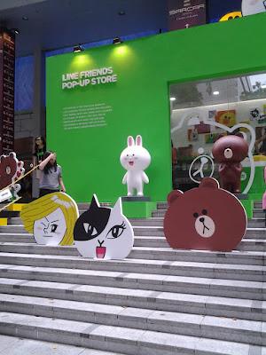 LINE Friends Pop Up Store Singapore