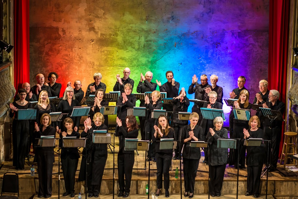 New London Chamber Choir - photo credit Andrew Moss