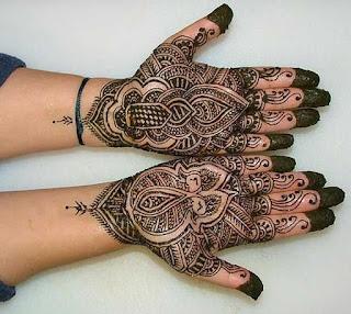 Arabic Henna Designs For Diwali