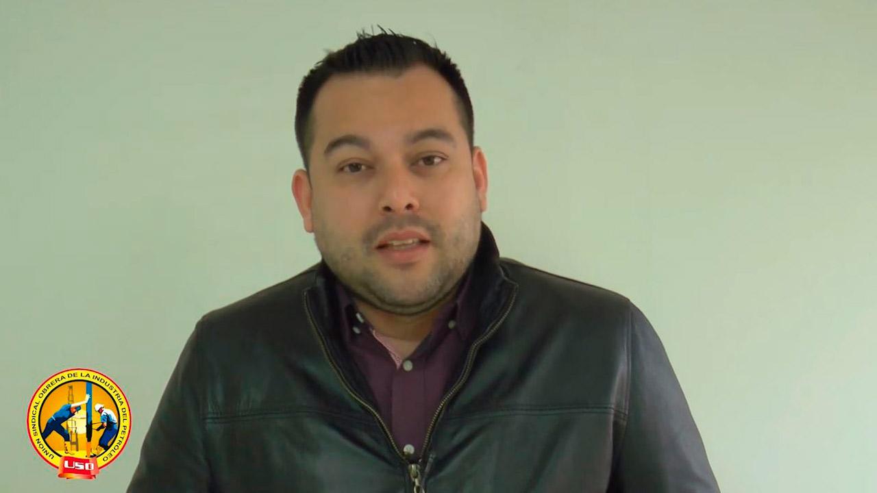 Mensaje a los trabajadores de la USO: Edwin Palma