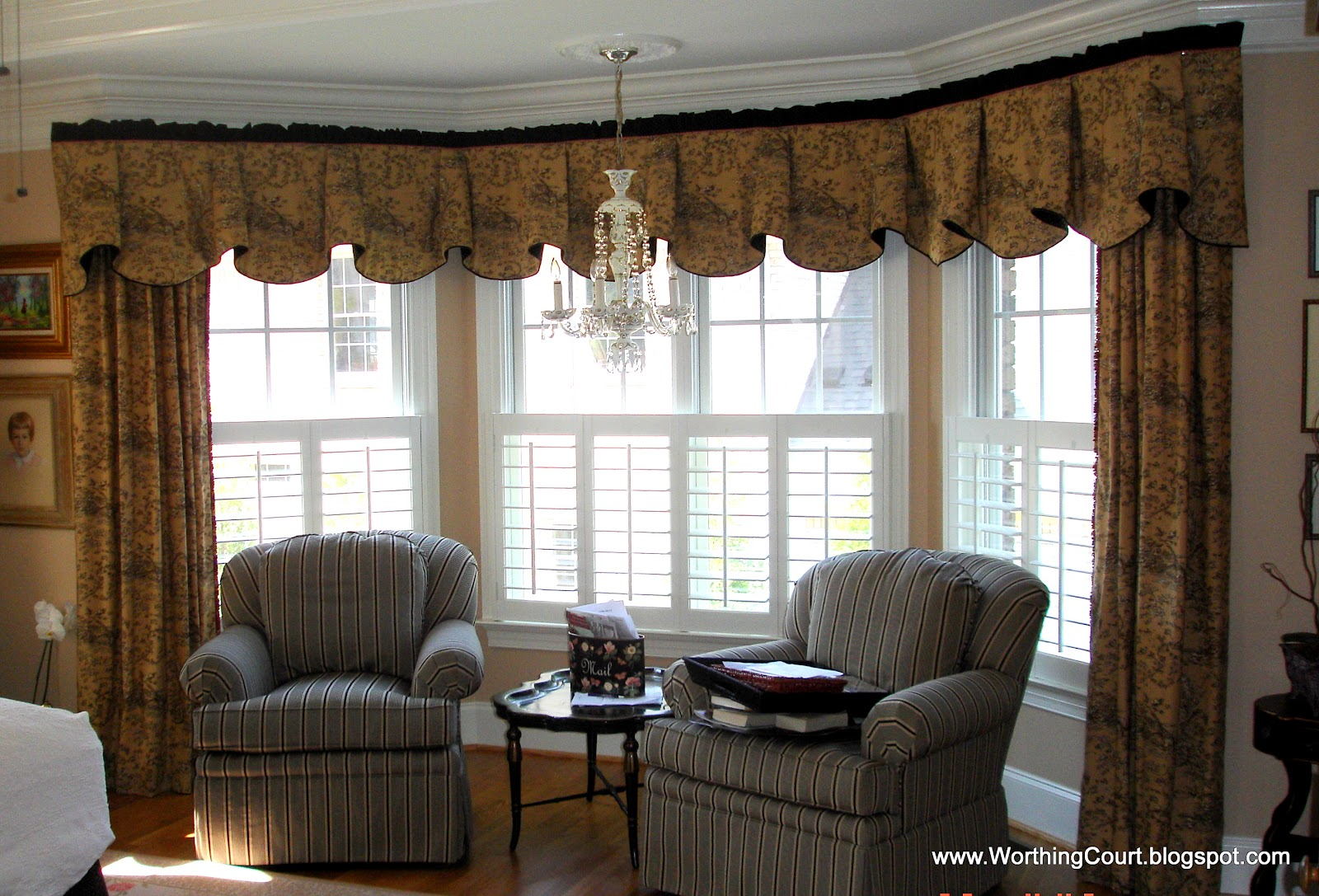 Bay window treatment ideas 2017 2018 best cars reviews for Window treatment ideas