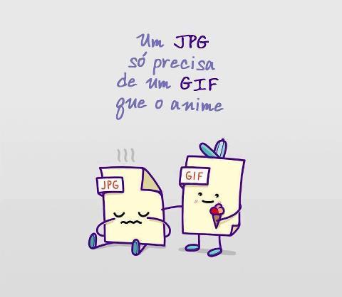 Um JPG Só Precisa De Uma GIF Que o Anime