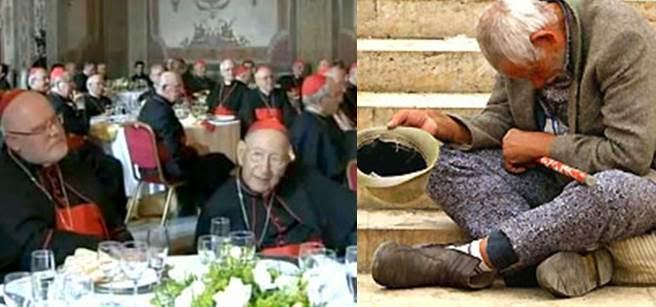 Cardinali e povero