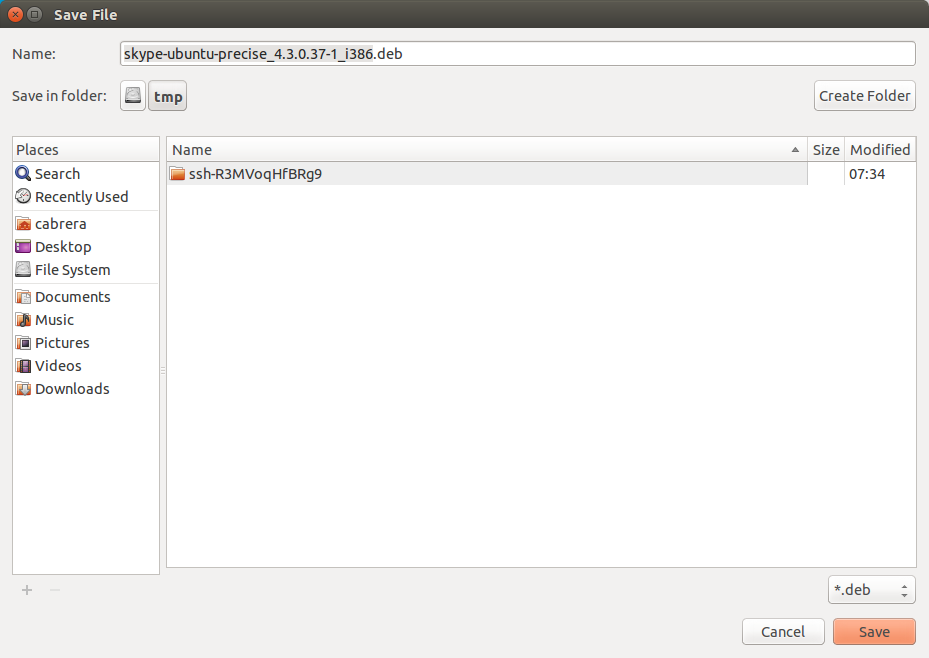 DriveMeca instalando Skype en Linux Ubuntu 14.04 paso a paso