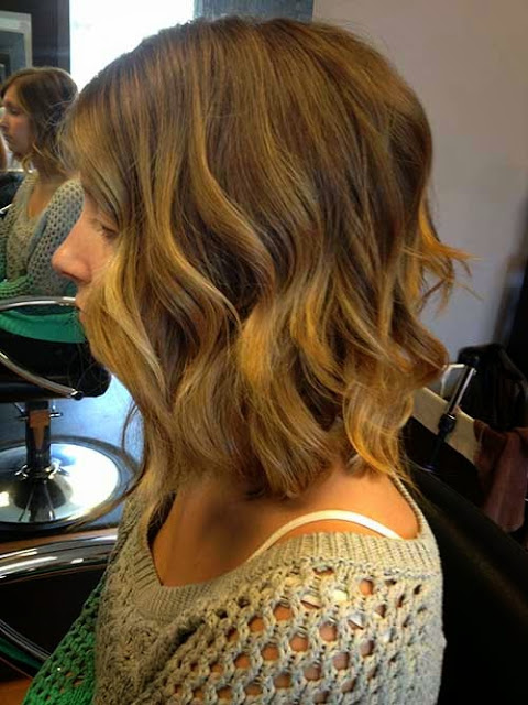 Short Hairstyles with Ombre Color