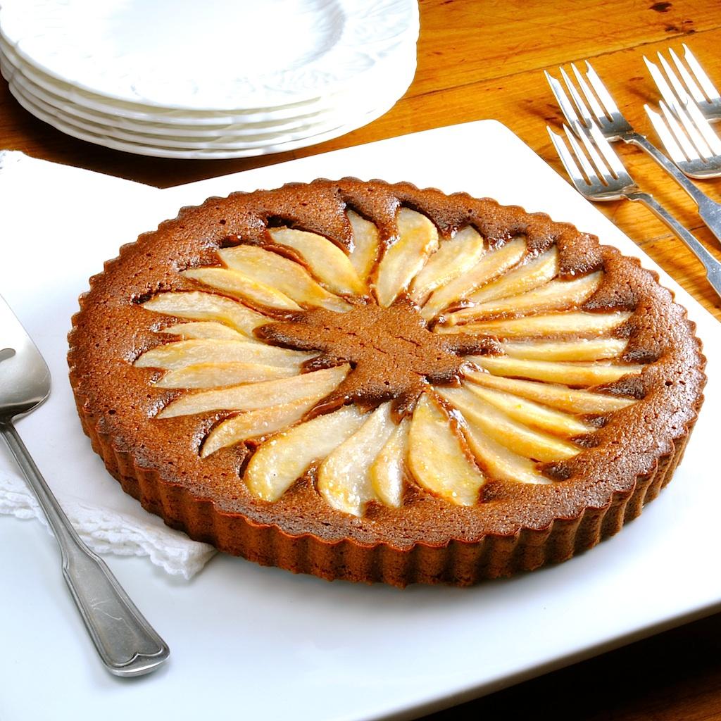 JULES FOOD...: Chocolate Pear Tart
