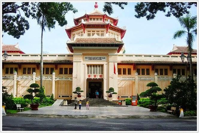 Bao tang lich su Viet Nam Saigon