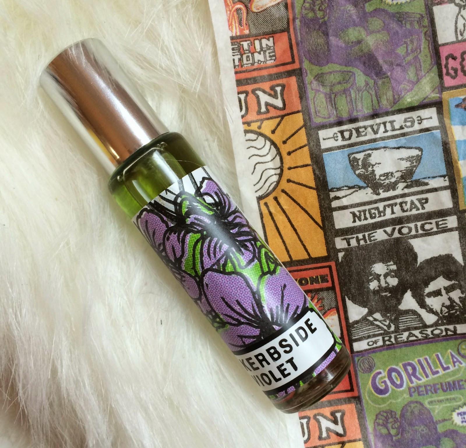 Lush Kerbside Violet Gorilla Perfume