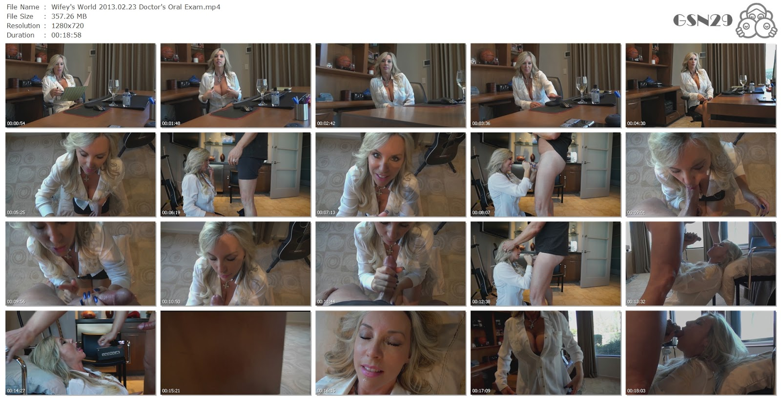 wifey s world 2013 02 23 doctor s oral exam