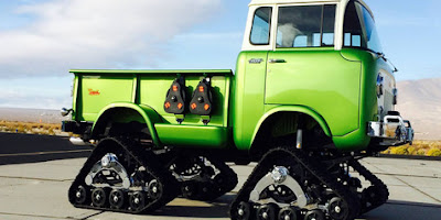 A Pick-up Jeep FC-170 Possessed the Green Monster
