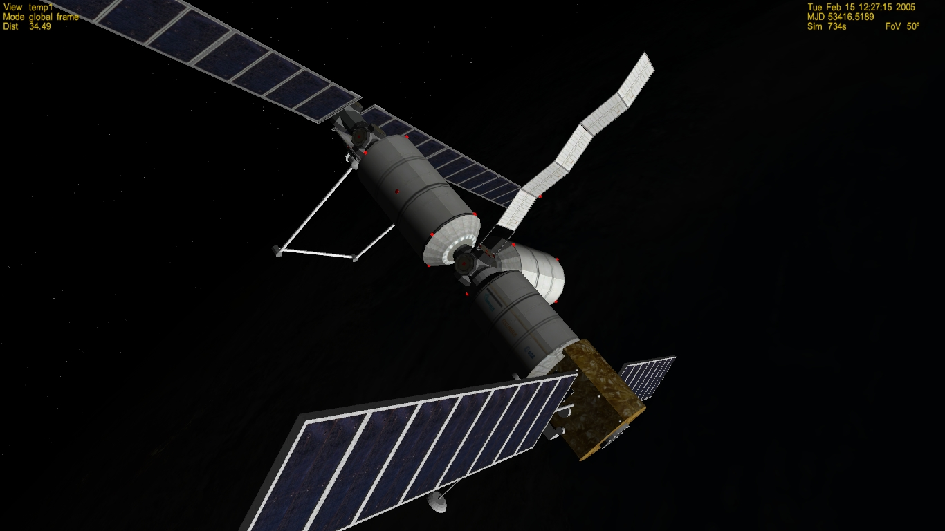 Esa mtff columbus space station project bae 1990 proposal for Space station 13 3d