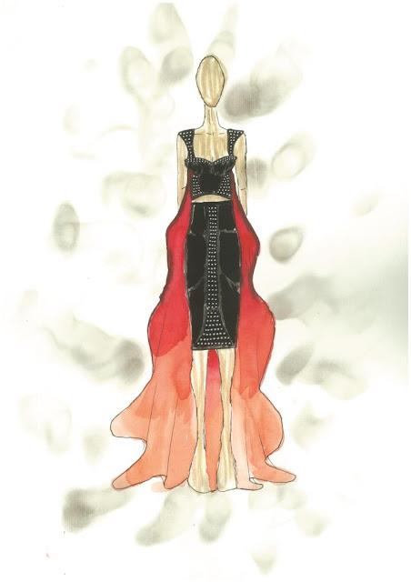 Alunos da Feevale desfilam coleção no Dragão Fashion Brasil, em Fortaleza
