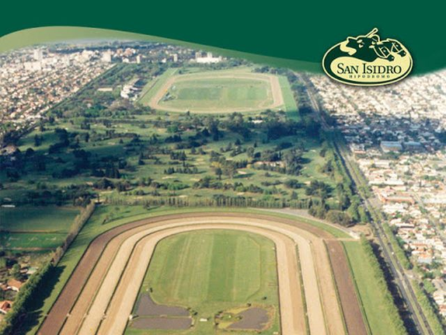 Hipódromo San Isidro vista aérea