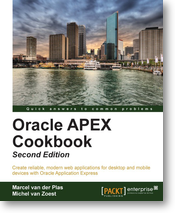 Oracle APEX Cookbook : Second Edition