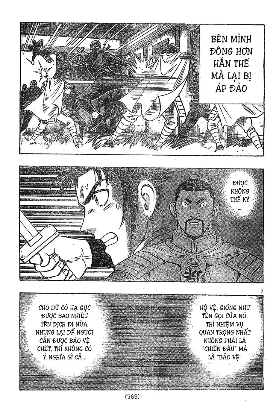 Hoàng Phi Hồng Phần 4 chap 81 Trang 8