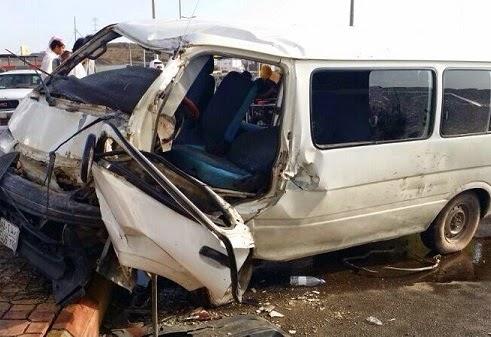 حادث استشهاد معلمين ومعلمات محافظة قنا اثناء عودتهم من تدريب الاكاديمية المهنية اليوم
