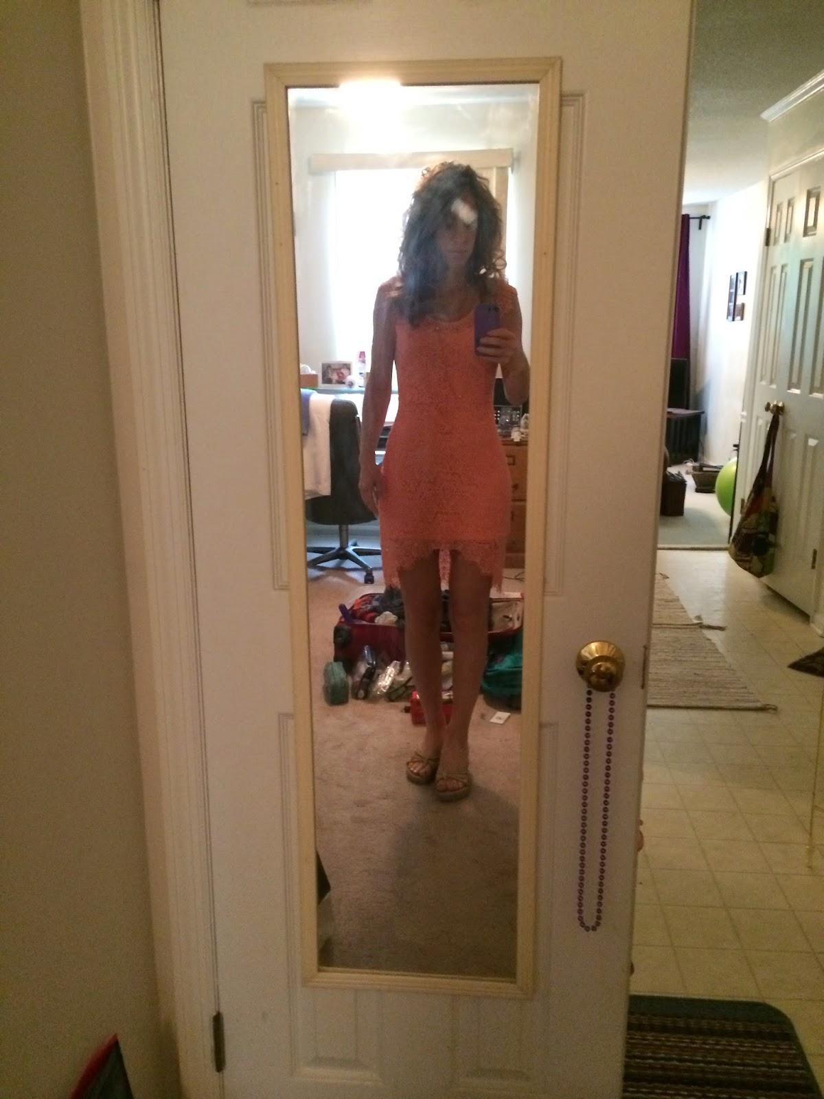 Terris Travels Wedding Shower Weekend Bathroom Mirror Selfies