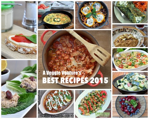 Best Vegetable Recipes for Everyday 2015 ♥ AVeggieVenture.com. Want to eat more vegetables? Find new ideas and inspiration in this special year-end collection of everyday recipes for vegetable lovers. Many vegetarian, vegan, low-carb, paleo and Weight Watchers friendly recipes.