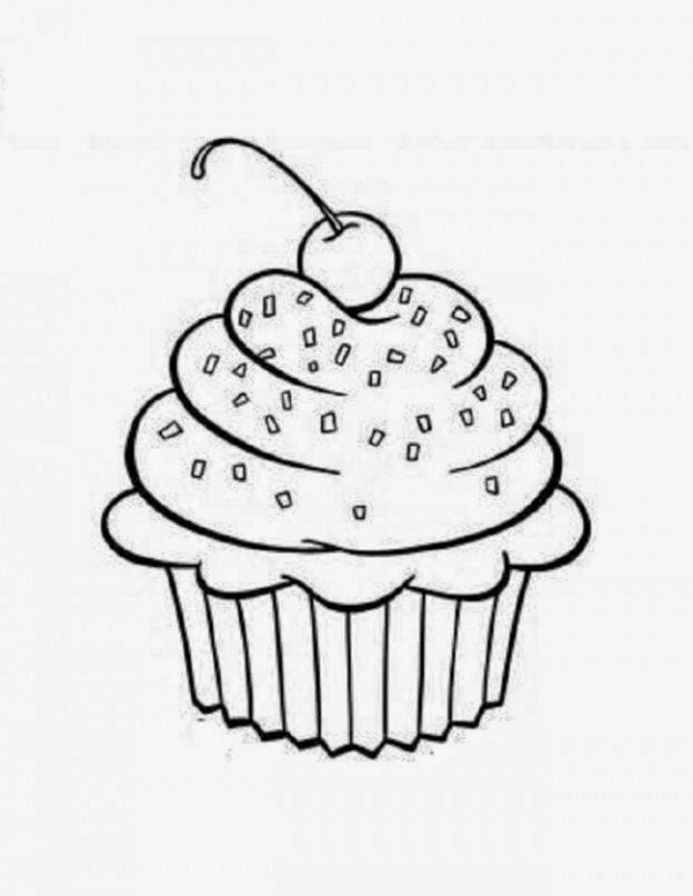 bauzinho da web baÚ da web desenhos riscos de cupcakes para