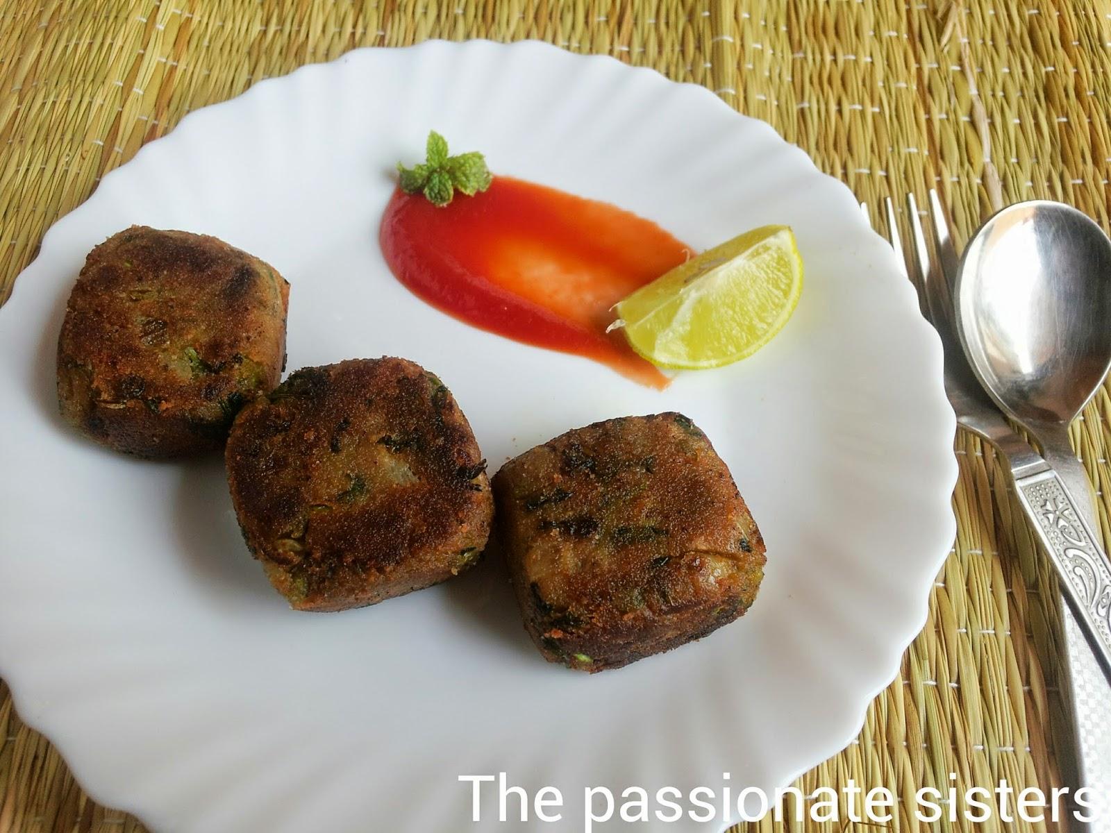 easy vegetable cutlet