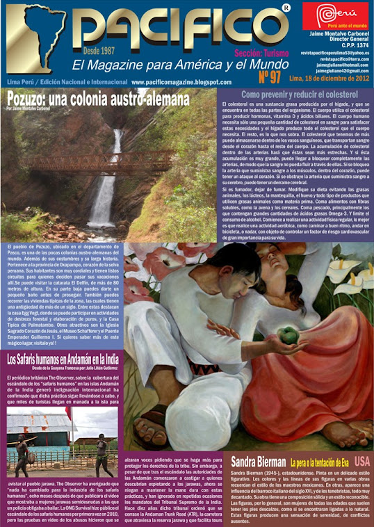 Revista Pacífico Nº 97 Turismo