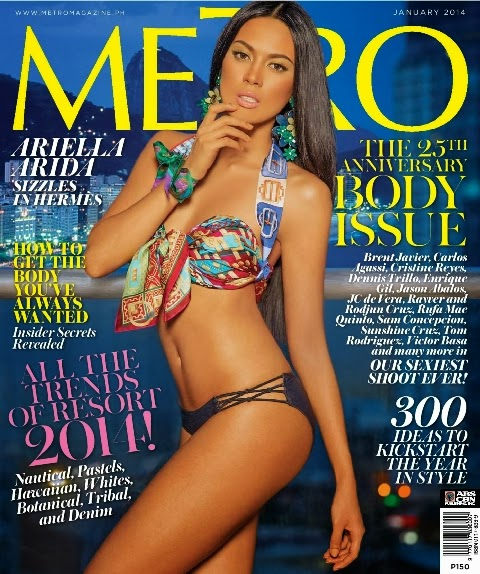 Ara Arida Metro Body January 2014 cover