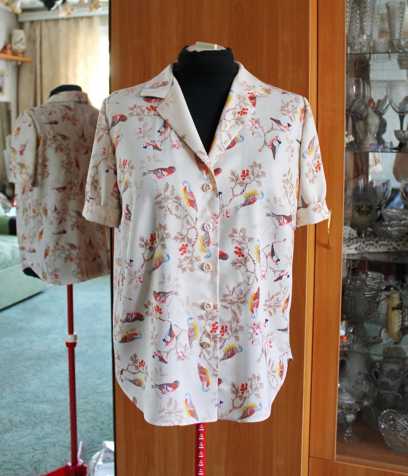 Блуза своими руками (подборка) Кладовочка идей 51