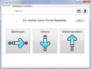 itunes übertragen von pc auf mac