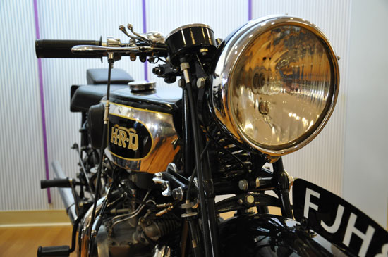 Solvang vintage motorcycle museum Vincent by Lady by Choice