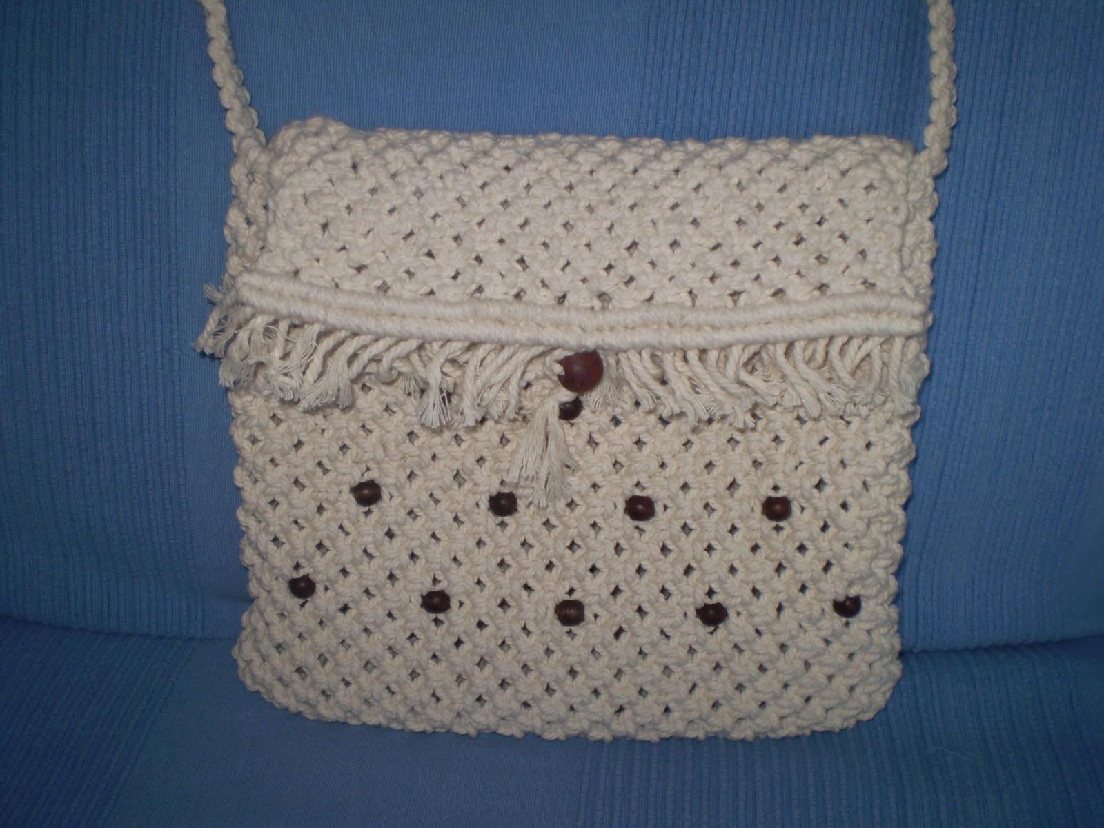 cestería y macrame Alicia: bolsos macramé