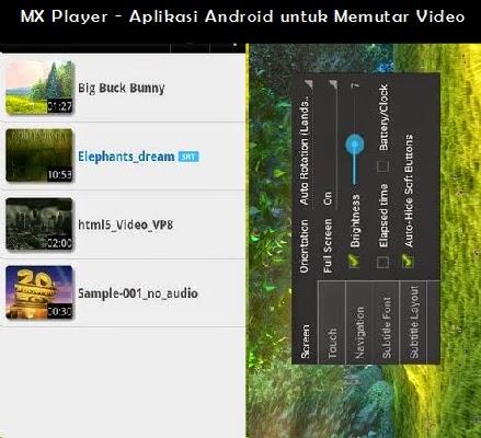 MX Player - Aplikasi Android untuk Memutar Video