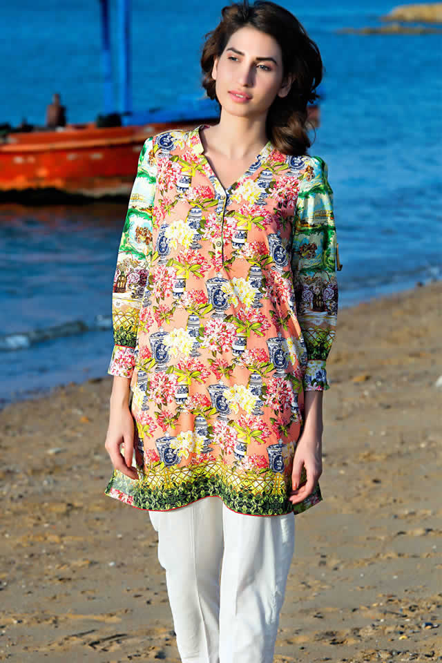 Trendy Kurti And Printed Tops Collectiob By Zeen In 2016