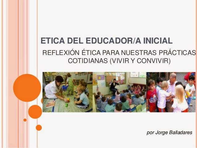Ética en la educación inicial