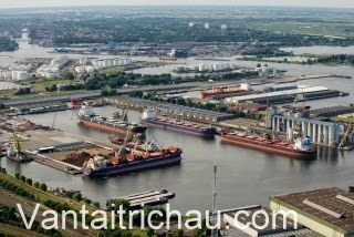 Các cảng biển Hà Lan