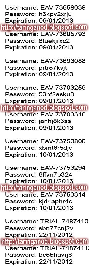 Nuevas Licencias Claves Llaves Seriales para NOD32 hasta Enero del