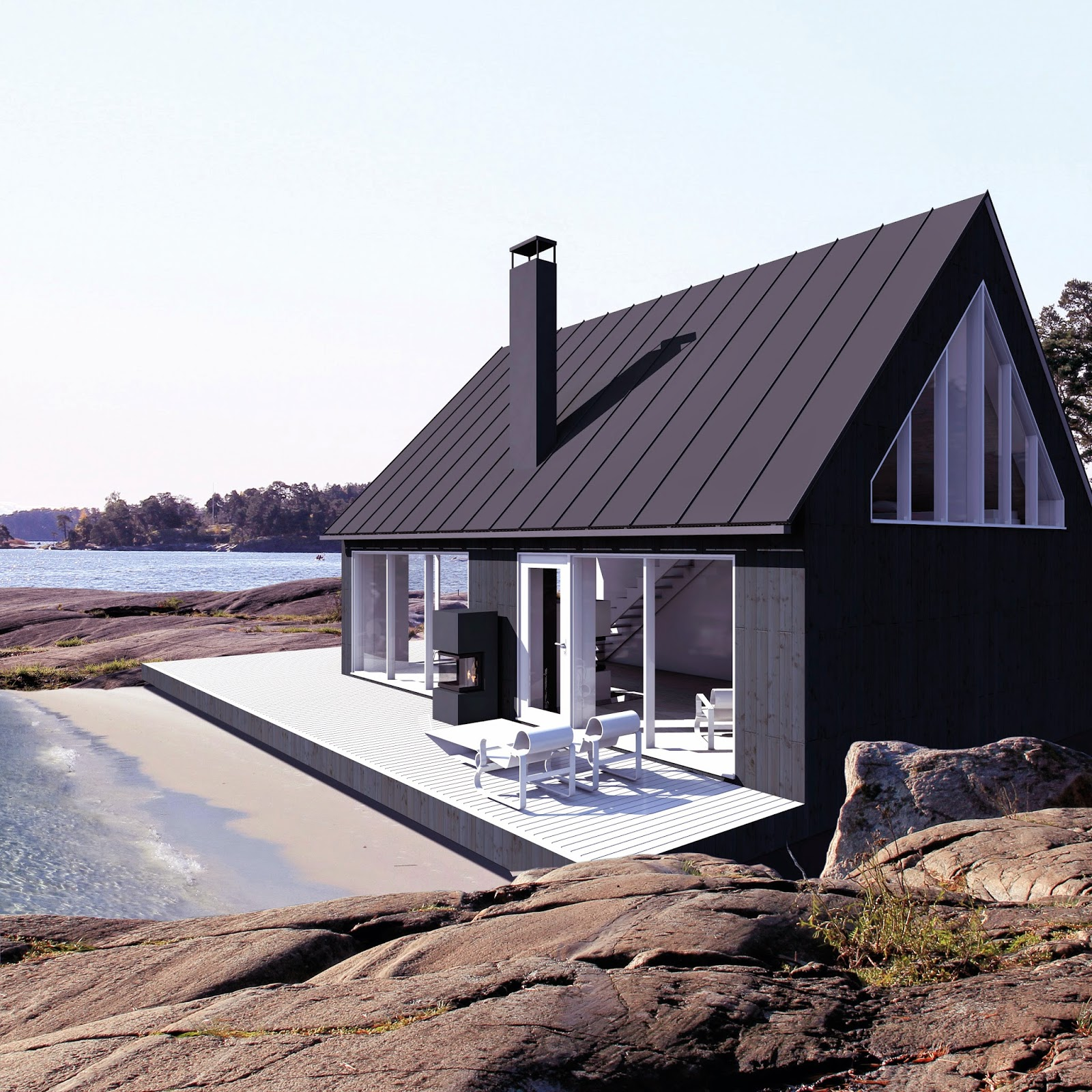 Finnhits Blog Sunhouse Modern Prefab Homes From Finland