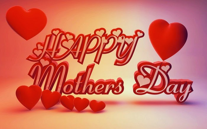 3D style mothers day wallpaper