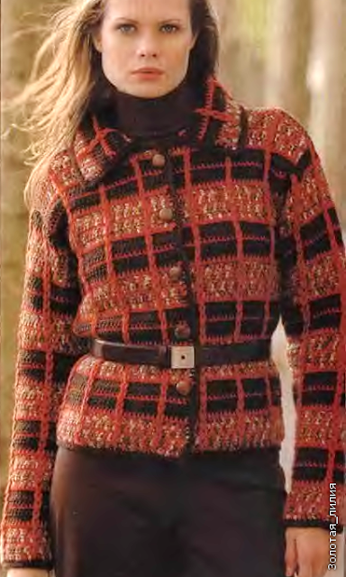 Crochet Patterns to Try: Classy Winter Jacket - Crochet Pattern and ...