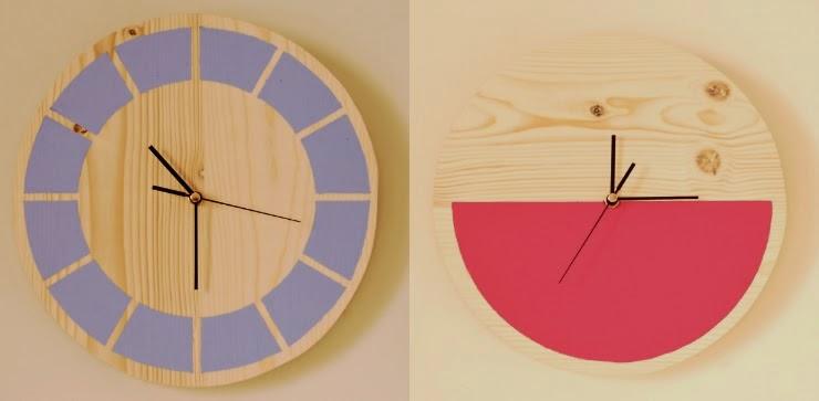 DIY, Reloj de Madera para Pared, Decoracion Personalizada