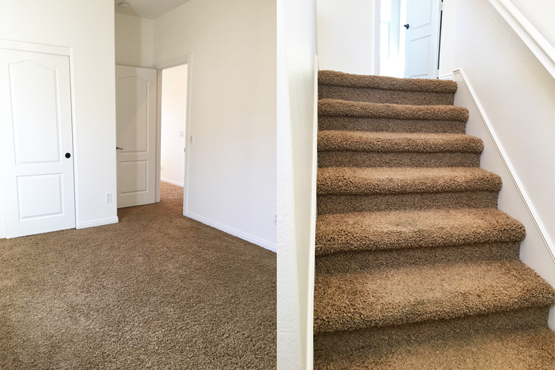 lowe's carpet installation review before and after
