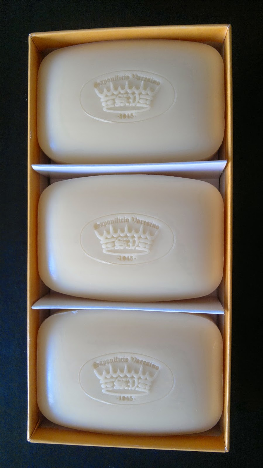 3x150 grams soap gift set made in italy