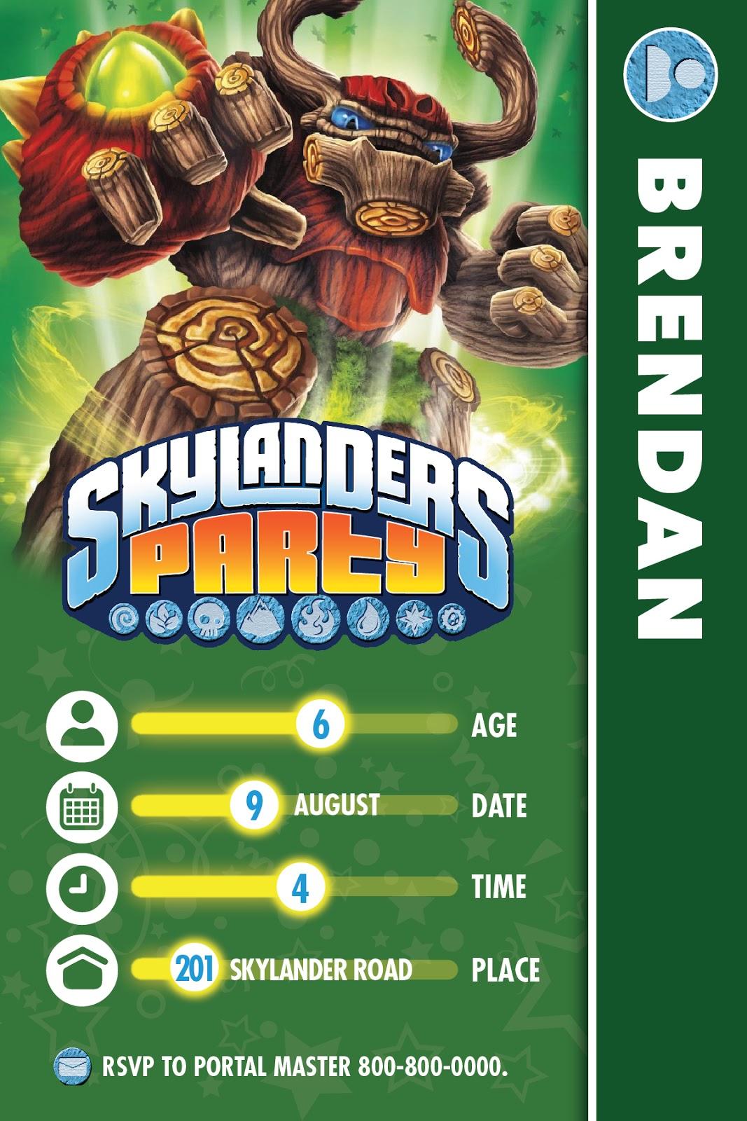 The bubbly hostess skylanders birthday party skylanders birthday party bookmarktalkfo Choice Image