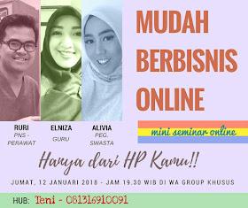 Kupas Tuntas Cara Cerdas Bisnis Online!