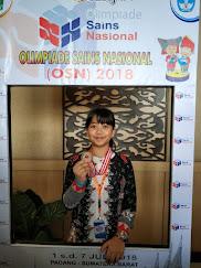 Peraih Medali Perunggu OSN 2018