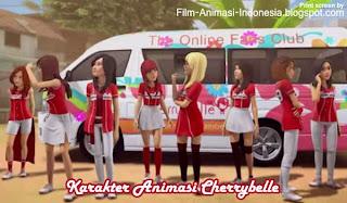 film kartun cherrybelle dalam serial adit dan sopo jarwo