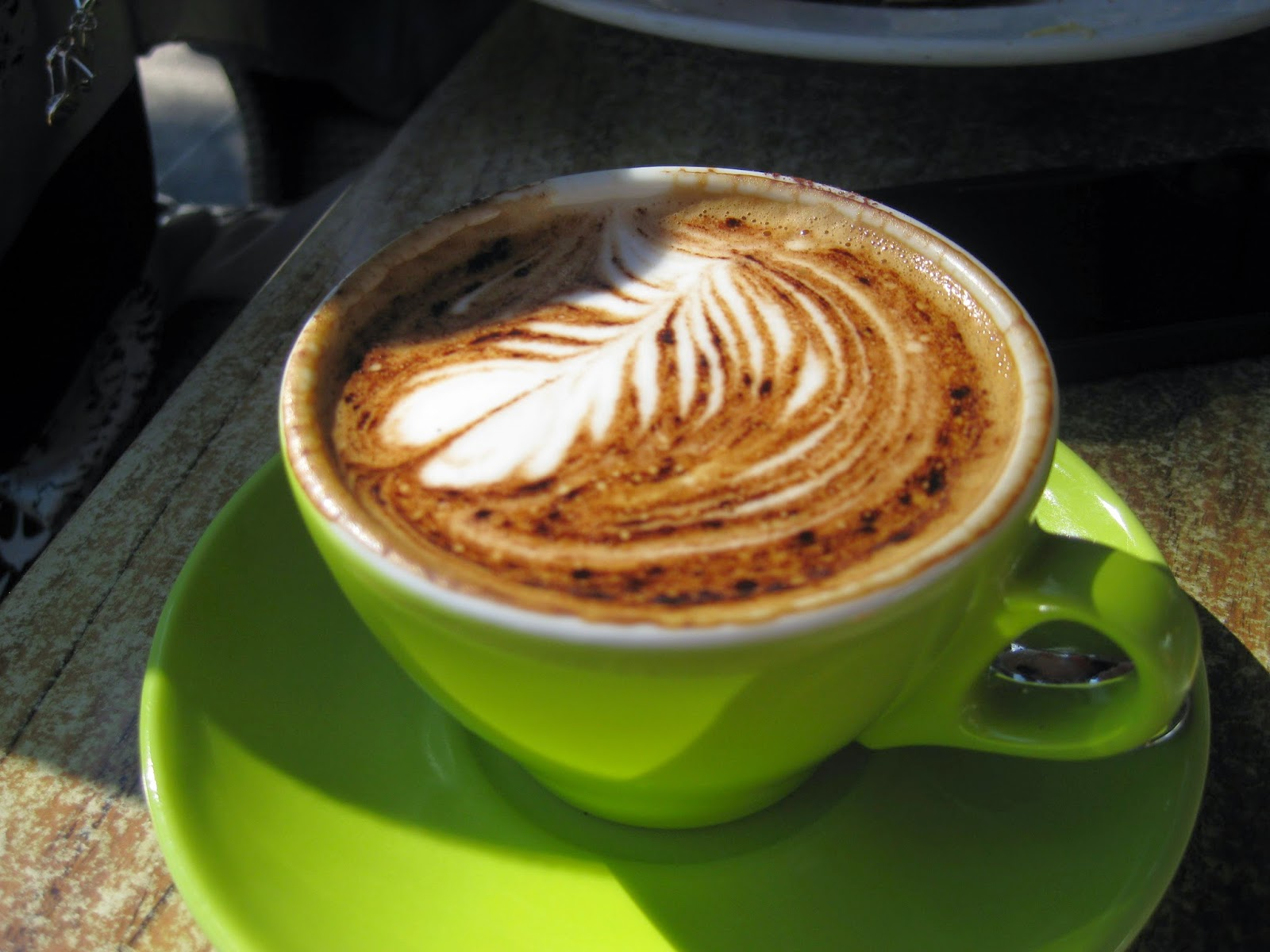 Cassie Cakes Review of Our Haus - a pretty coffee