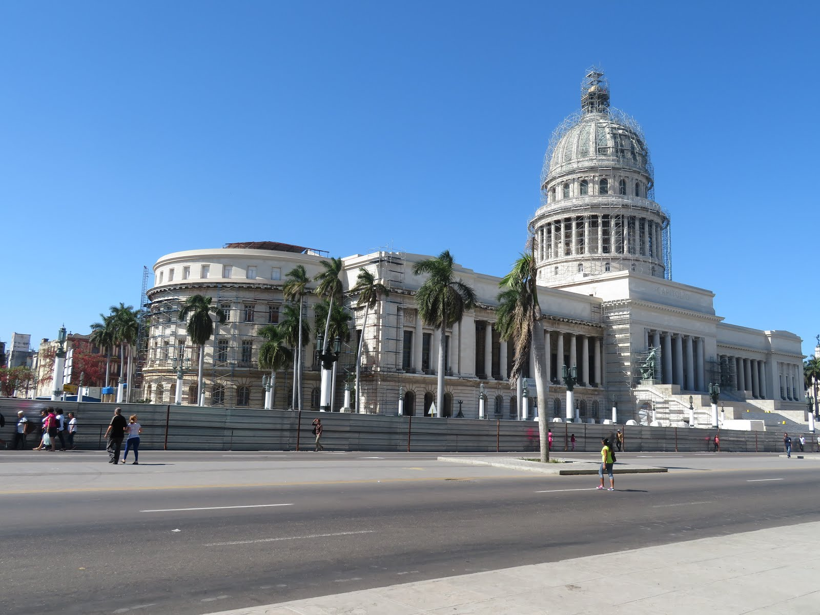 The Refurbished Capitol of Cuba, Havana